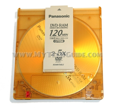 DVD-RAM disc