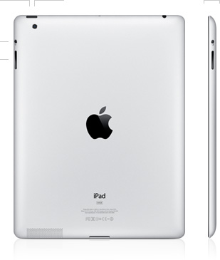 Apple iPad 2 back view