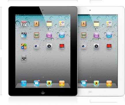 Apple iPad 2 front view